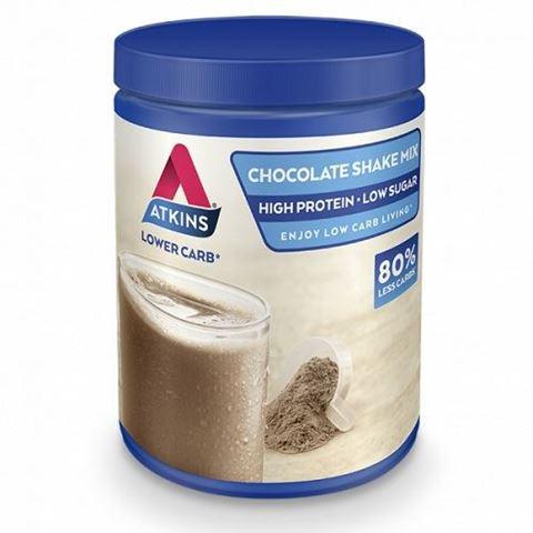 Atkins Chocolate Shake Mix Powder 370gr