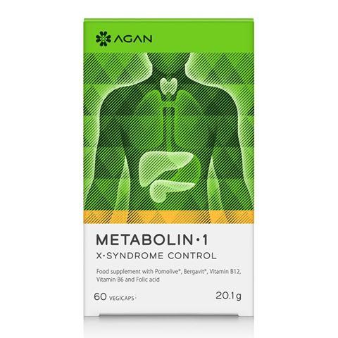 Agan Metabolin 1, 60 Φυτικές Κάψουλες