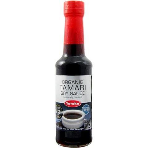 Yutaka Organic Tamari Soy Sauce BIO 150gr