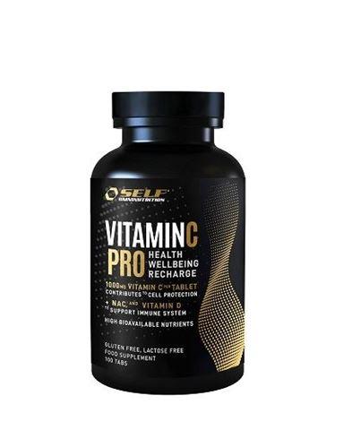 Self Omninutrition Vitamin C 1000mg PRO + NAC % Vitamin D, 100 tabs