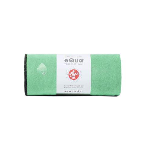 Manduka eQua Yoga Mat Πετσέτα Green Ash