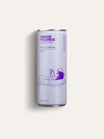 MINOR FIGURES Cold Brew Nitro Kαφές Black 200ml