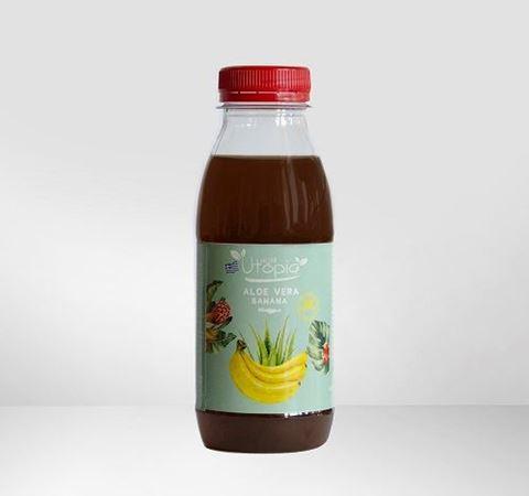 Utopia Aloe Vera Drink, με γεύση Μπανάνα, 330ml