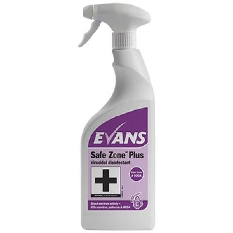 Evans Safe Zone Plus Ιοκτόνο 750ml