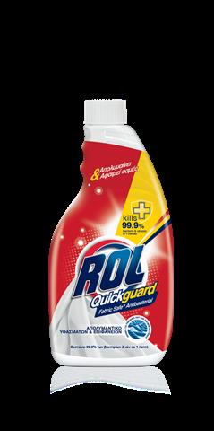 Απολυμαντικό Spray Υφασμάτων Quickguard Rol (680ml) Ανταλλακτική Συσκευασία