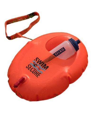 Swim Secure Hydration float, Κολυμβητικός Πλωτήρας με υποδοχή για παγούρι, Πορτοκαλί