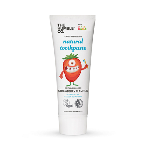 The Humble Co. Φυσική Οδοντόκρεμα - Kids Strawberry 75ml