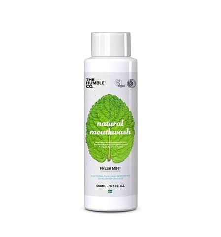 The Humble Co. Natural Mouthwash 500ml - Fresh Mint