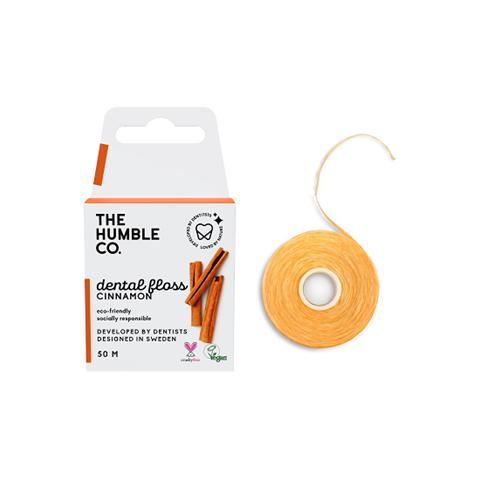 The Humble Co. Οδοντικό νήμα καθαρισμού 50μ -  Cinnamon