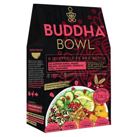 Buddha Bowl με Δίχρωμη Κινόα, Μαύρες Φακές Beluga, Ηλιόσπορο, Σπόρους Chia & Αμάρανθο 250gr