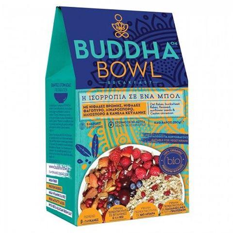 Buddha Bowl Breakfast με Νιφάδες Βρώμης, Νιφάδες Φαγόπυρο, Λιναρόσπορο, Ηλιόσπορο & Κανέλα Κεϋλάνης 250gr