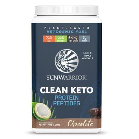 Sunwarrior Ketο Vegan Πρωτεΐνη με πεπτίδια 'Σοκολάτα' 720gr