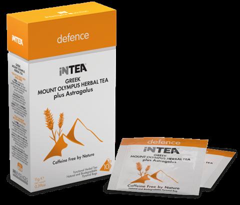 INTEA Ελληνικό Τσάι του Βουνού Ολύμπου Defence, με Αστράγαλο, 10 φακελάκια
