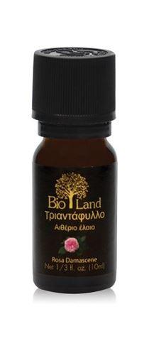 Bioland Αιθέριο Έλαιο Τριαντάφυλλο 20%(Σε αμυγδαλελαιο), 10ml