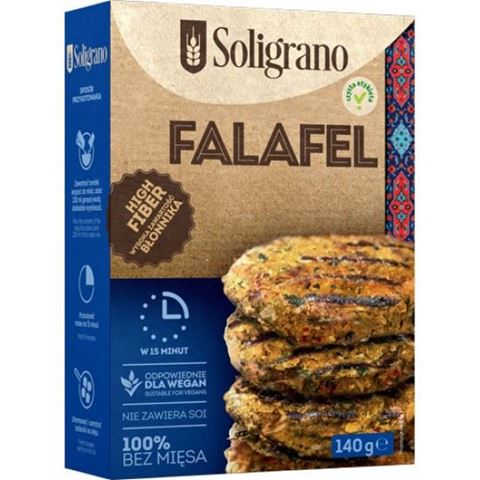 Soligrano Vege Burger Φαλάφελ Μπιφτέκι Για Χορτοφάγους 140gr