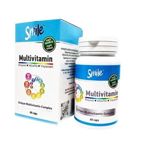 Smile Multivitamin, 60 κάψουλες