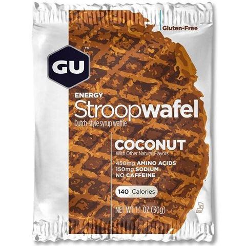 """Ενεργειακές Βάφλες – GU Energy Waffles """"Stroopwafel"""" Coconut, 30γρ"""