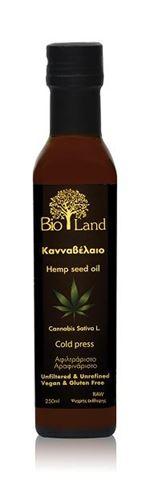 Bioland Κανναβέλαιο Βιολογικό, 250 ml