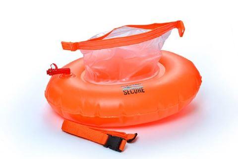 Swim Secure Tow-Donut, Κολυμβητικός Πλωτήρας με ιμάντα μέσης, Πορτοκαλί