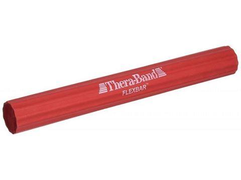 TheraBand Ελαστική Εύκαμπτη Ράβδος (Flexbar), Κόκκινο - Μεσσαίο