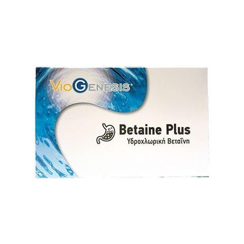 Viogenesis  Βetaine Plus 60 Κάψουλες