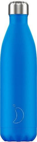 Chillys Neon Blue Παγούρι από Ανοξείδωτο Ατσάλι 750ml