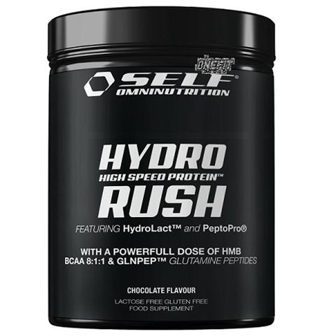 Self Omninutrition Hydro Rush Chocolate 800gr - 12015, Yδρολυμένη Πρωτεΐνη 83%