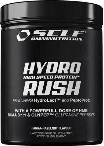 Self Omninutrition Hydro Rush Panna-Hazelnut 800gr - 13917, Yδρολυμένη Πρωτεΐνη 83%