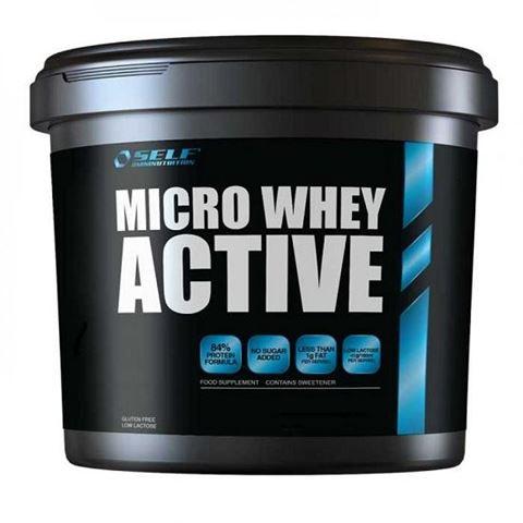 Self Omninutrition Micro Whey Active - 2413,Vanilla, 1kg, Πρωτεΐνη Γράμμωσης 84%