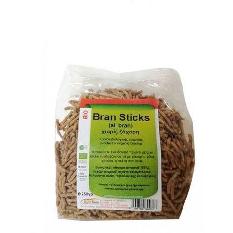 Health Trade Bran Sticks Χωρίς Ζάχαρη 200γρ
