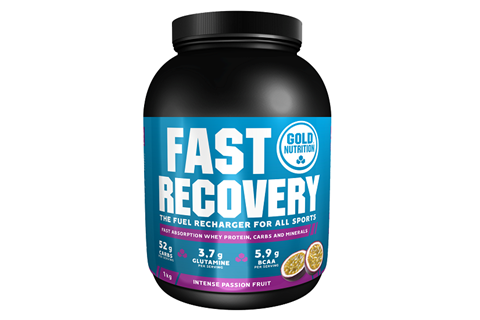 Gold Nutrition Fast Recovery Φρούτα του Πάθους - 1 kg
