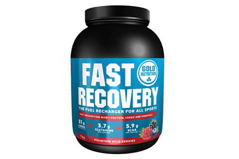 Gold Nutrition Fast Recovery Άγρια Μούρα - 1 kg