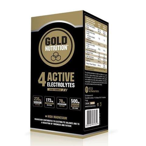 Gold Nutrition 4Active Electrolytes 10 sticks