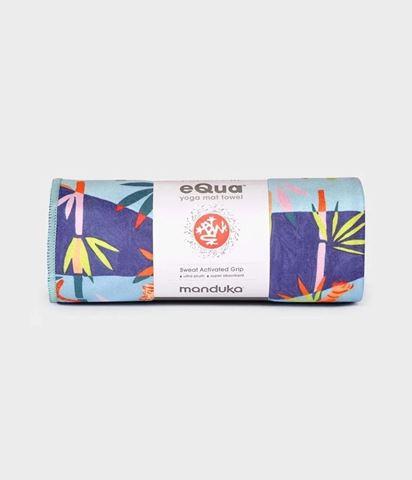 Manduka eQua Yoga Mat Πετσέτα Bengal Light Blue