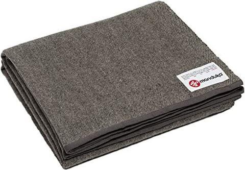 Manduka κουβέρτα Twill Wool - Sediment