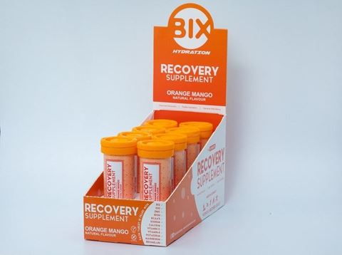 Bix Recovery Supplement Orange Mango, 8 x 10 Effervescent tablets