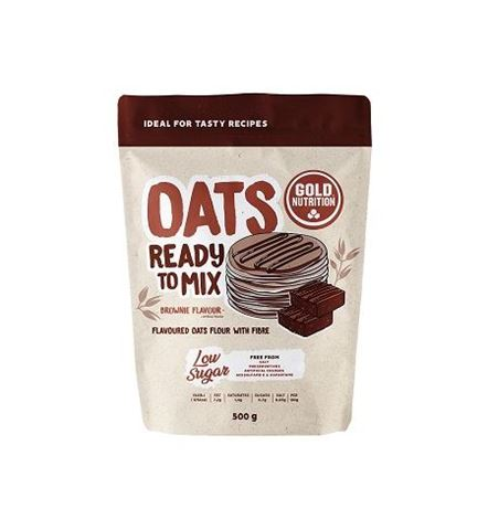 Gold Nutrition Oats Ready to Mix Brownie 500gr