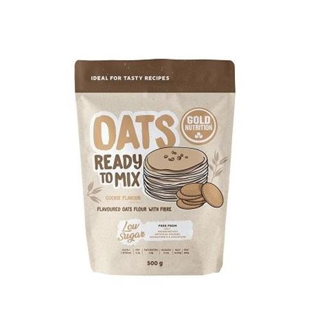 Gold Nutrition Oats Ready to Mix Cookie 500gr