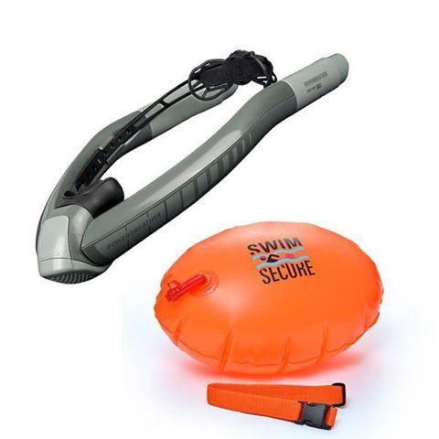 Πακέτο Ameo Powerbreather Adventure και Swim Secure Tow-Float Κολυμβητικός