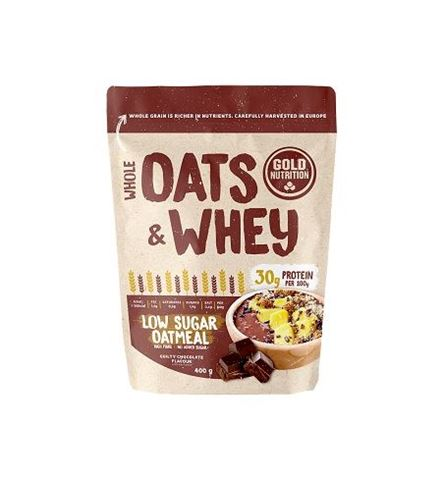 Gold Nutrition Oats & Whey Chocolate 400gr