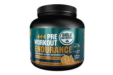 Gold Nutrition Pre Workout Endurance Orange 300gr