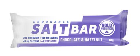 Gold Nutrition Endurance Salt Bar Choco & Hazelnut - 40gr