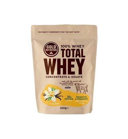 Gold Nutrition Total Whey Vanilla 260gr