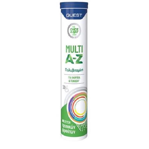Quest Multi A-Z Vitamins 20 Αναβράζουσες Ταμπλέτες