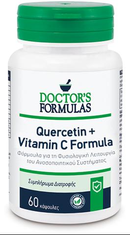 Doctor's Formulas Quercetin & Vitamin C Formula 60 Κάψουλες