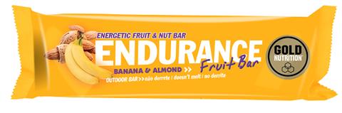 Gold Nutrition Endurance Fruit Bar Banana & Almond - 40gr