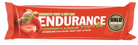 Gold Nutrition Endurance Fruit Bar Strawberry & Almond - 40gr