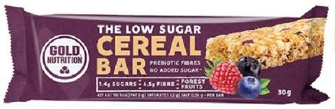 Gold Nutrition Low Sugar Cereal Bar Forest Fruits 30gr