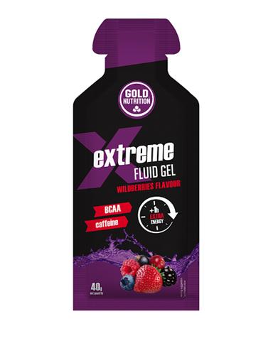 Gold Nutrition Extreme Fluid Gel Berry - 40gr