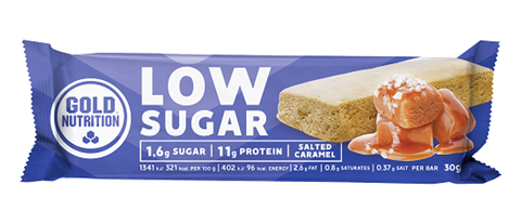 Gold Nutrition Protein Bar Low Sugar Salted Caramel 30gr